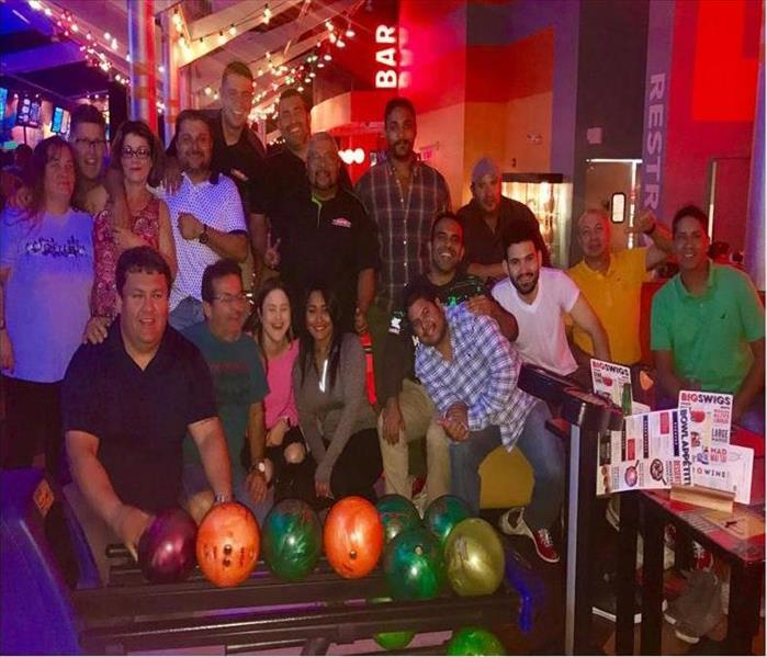 SERVPRO Has Fun in Miami Bowling